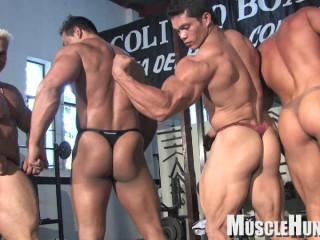 MuscleHunks - Nacho's Gym Part 2