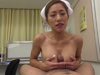 Kanna Kitayama - Nurse With Gigantic Breasts Cute Mastery With Great Cliff