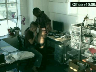 Office homosexual hump caught on hidden cams