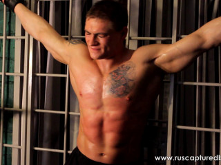 Bodybuilder Vasily in Prison - Part II - RusCapturedBoys