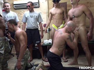 Soldier Gangbang Party