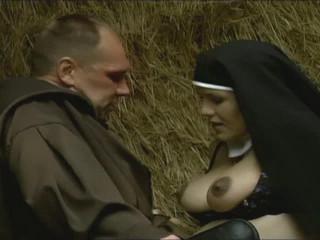 Pregnant nuns, too, enjoy fuckfest