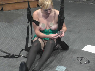 Super bondage, strappado and torture for sexy hot girl
