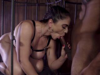 Marta Lacroft - Caged To Suck (2019)