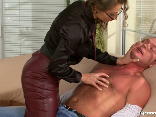 Gina Killmer Controls the Office Orgy Scene - Full HD 1080p