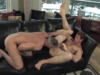 Horny boys bareback