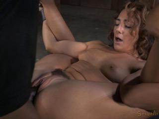 Awesome restrain bondage squirtfest!