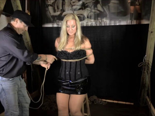 Introducing Carrie Crush In Her First Time Hogtied