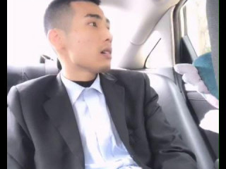 A Suited Guy Jerking Off