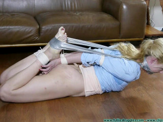 Hogtied Toes to Wrists by Miguel - Part 2