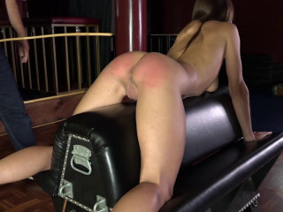 Stripped for the Strap and Cane - Chrissy Marie and Delta - Full HD 1080p