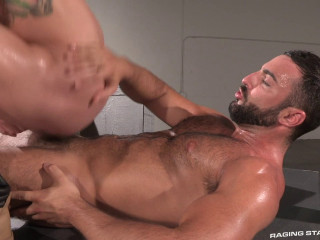 Muddy Fucks: Scene 01 (Abraham Al Malek, Johnny V)