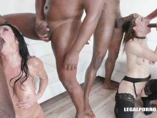 Unreal Interracial Orgy With DP For Veronica Avluv & Monika Wild