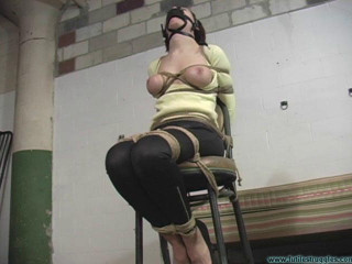 Gagged Breast bound