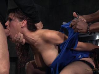 SexuallyBroken - Nov 09, 2015 - Immense jugged marvelous Cougar Syren de Mer in relentless live act tied
