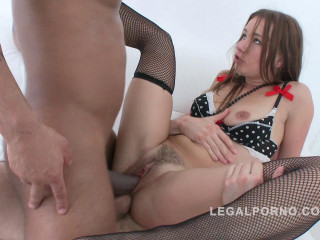 Teenie slut ganganged by 3 boys & DP'ed