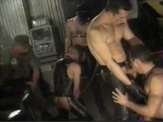 Fetish Orgies For Leather Fuckers