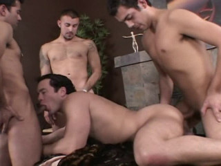 Barebacking With Carlos Morales vol.2Gang Plowed