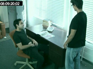 Office queer romp caught on hidden cams