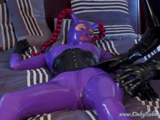 Rubber Worship in Ballet Boots - HD 720p