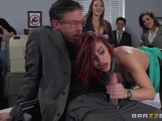 The Mega-slut of Wall Street Ep-2: The Assfuck Office Queen