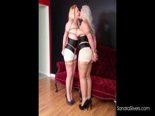 Kissing Lesbian Bondage Dream Turns into Damsel in Distress Reality!