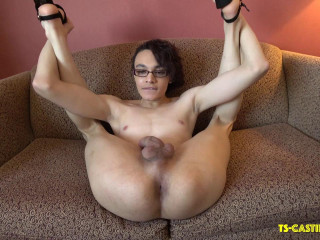Kerri LaBouche Breaks In A Couch!