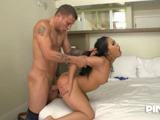 Asian Girl Loves The Hard Cock Deep In Her Pussy