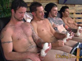 4 Straight Guys