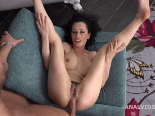 Stacy Bloom Vs Mr. Anderson, Nut Deep Anal, Gapes and Jizz in Facehole