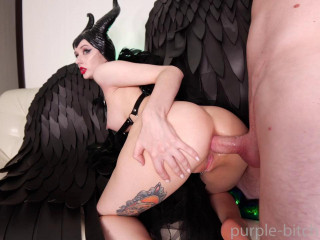 Maleficent Loves To Fuck - Purple Bitch - HD 720p