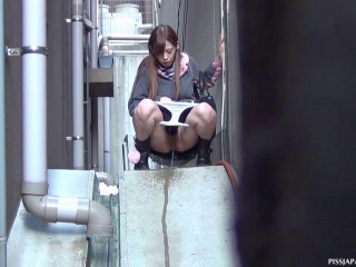 Urinate Japan TV Outdoor Pissers Twenty-one