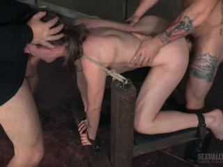 Sierra Cirque Lovely woman endures brutal gargling raunchy pummeling extraordinary restrain bondage sex! (2016)