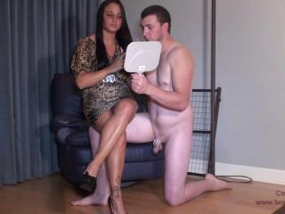 Brat Humiliates her Hotwife Apparel Tester