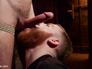 Ripped Stud Caught in Sebastian's Web and Edged Relentlessly