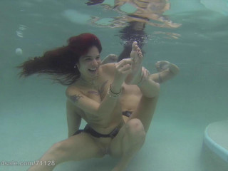 Ginary's Tickle Adventures - Underwater Tickle With Wenona & Ginary