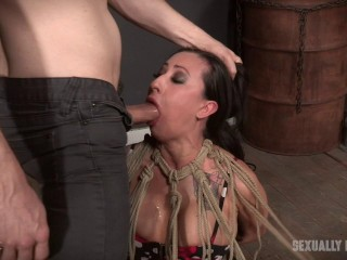 Rough bdsm fuck for sexy whore Lily Lane