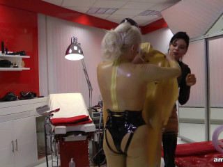 Madame Gillette, Lady Ashley Extremly Tubed and Milked (2018)