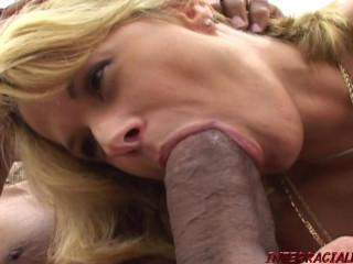 Tara Gets A Mouth & Pussy Full of Blackzilla