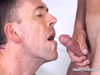 Daddy Fucks Raw