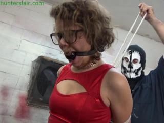 HunterSlair - Bailey Paige - Booted petite bimbo's crotch roped torment