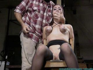 Bap Torment for Riley Jane 1 part - BDSM,Humiliation,Torture HD 720p