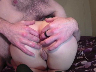 Stretch And Gape My Little Pussy and Ass
