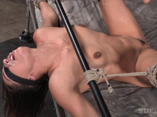 Roughly Fucked Into A Drooling Mess By Two Cocks! - Sara Luvv - HD 720p