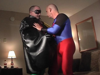 Superman in latex