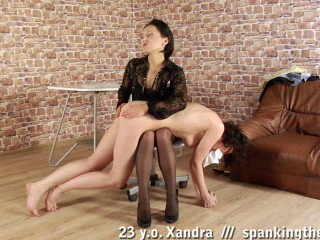 23 y.o. Xandra self smacking