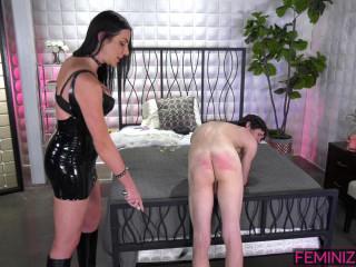 Marissa Minx & Sissy Tanya - TS Mistress Sissy Training