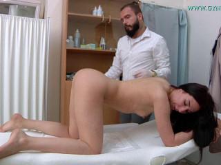 Violetta (25 years girl gyno exam)