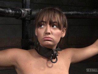 SexuallyBroken - Apr 06, 2016 - Charlotte Cross learns to multi task on a sybian saddle