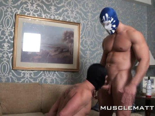 MuscleMatt - Kyle Tears Jason Up, Bruise, Use, Bong and Bang!